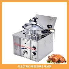 vente unique cuisine comptoir électrique pression de poulet friteuses pour vente unique