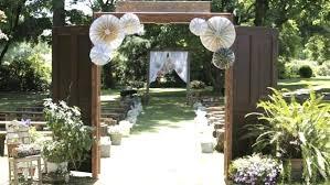 wedding entrance backdrop 43 best outdoor wedding entrance ideas pink lover