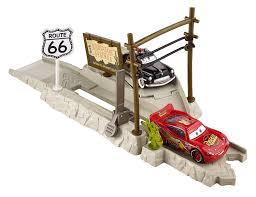 disney pixar cars route 66 speed trap launcher toys