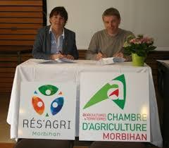 chambre d agriculture du morbihan signature de la nouvelle convention entre rés agri 56 et la chambre