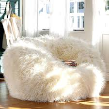 big fluffy chair big bean bag fluffy bean bag chair and ottoman