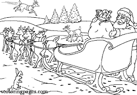 coloring pages santas reindeer ideas style ideas