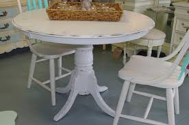 dining table white distressed and chairs black with regard to
