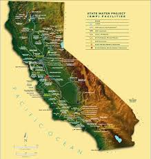 california map project california state water project will deliver the most water since