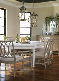Coastal Dining Table Dining Room Shabbychic Style With Tolix - Coastal dining room table