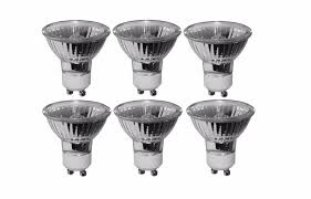 gu10 50w halogen light bulbs pack of 6 50 watt gu10 halogen bulb 220 volt 50w gu10 halogen light