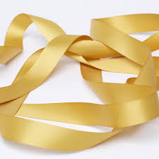 satin ribbon antique gold satin ribbon