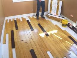 easy install bamboo flooring diy