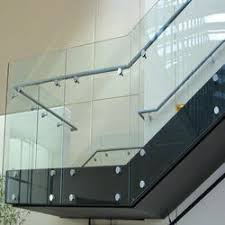 Glass Handrails For Stairs Glass Railing Glass Staircase Railing Manufacturers U0026 Suppliers