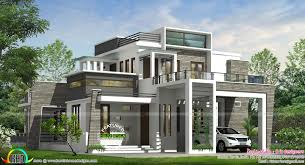 june 2016 kerala home design and floor plans 4 bhk modern box