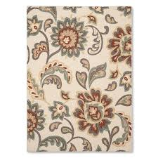Paisley Area Rugs Maples Paisley Floral Area Rug 4 X5 6 Beige Apartments