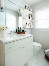 extra wide bathroom floating shelves wooden framed mirror white