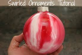 diy ornaments swirled ornament tutorial