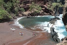 Sand Beach by Red Sand Beach Maui Guidebook