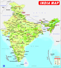 Map With State Names by Maps Of Delhi