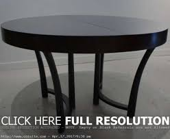amazing expandable round dining table lanzandoapps com