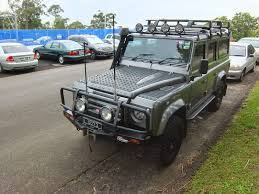 land rover old aussie old parked cars 2007 land rover defender 110