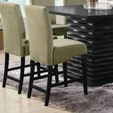 Modern Counter Height Chairs Counter Height Dining Table In Black Coaster W Options