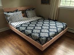 floating platform bed frame inspirations with and nightstands long
