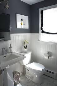 black and bathroom ideas decorating ideas 10 bathrooms with beadboard wainscoting