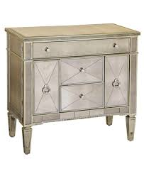 Chest End Table Marais Chest Mirrored Accent Chest Furniture Macy U0027s