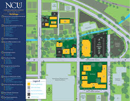 American University Campus Map Location Northwest Christian University
