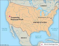 california map national parks yosemite national park britannica