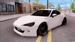 subaru brz rocket bunny v3 subaru brz rocket bunny 2013 for gta san andreas