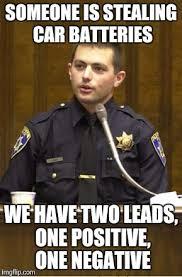 Battery Meme - police officer testifying meme imgflip