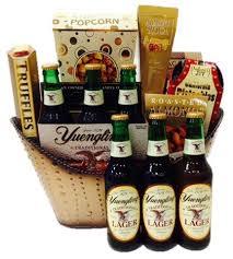 Beer Gift Basket Send Liquor Yuengling Beer