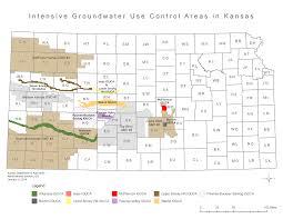 Map Of Manhattan Kansas Intensive Groundwater Use Control Areas