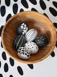 decorative eggs black and white easter decorative eggs pictures photos and