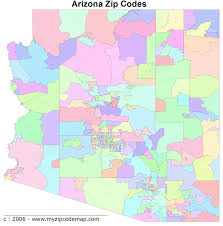 Scottsdale Zip Code Map by Arizona Zip Code Maps Free Arizona Zip Code Maps