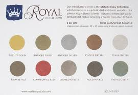 free stencil paint color chart royal design studio stencils