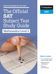 amazon com the official sat subject test in mathematics level 2