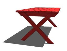 ana white vanessa u0027s x picnic table diy projects