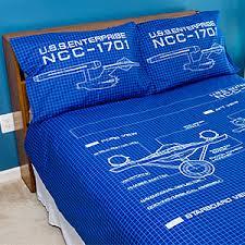 star trek bedroom star trek tos schematic duvet cover and pillow cases thinkgeek