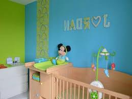 chambre bébé turquoise décoration chambre bebe vert anis et bleu turquoise 18 marseille