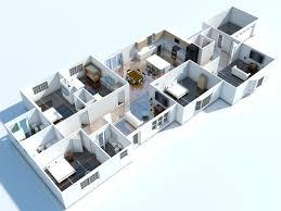 architecture apartments decoration lanscaping 3d floor plan
