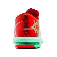 kd 6 christmas nike kd vi 6 christmas light crimson metallic gold green glow