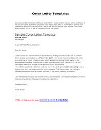Example Cover Letter For Resume by Cover Letter Resume Sample