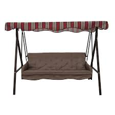 Garden Treasures Patio Chairs Lowes Garden Treasures Traditional Swing Replacement Cushion Sc