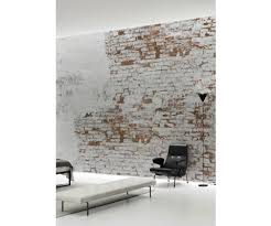 brick wall wallpaper mural by behangfabriek