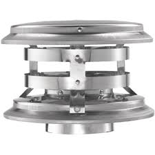 master flow 9 in x 9 in galvanized steel fixed chimney cap in