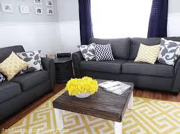 Living Room Blue Sofa by Living Room With Blue Sofa Beige Fabric Arm Sofa Sets White
