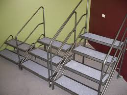 portable steel stairs best stairs 2017