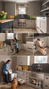 Designing Your Own Kitchen Designing For Pets Custom Dog Room Pet Food Storage Cabinet