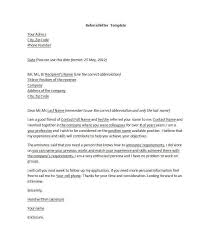 cover letter with reference cover letter reference template