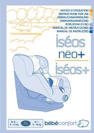 siège auto bébé confort iseos safe side notice siege auto bebe confort iseos 28 images notice bebe