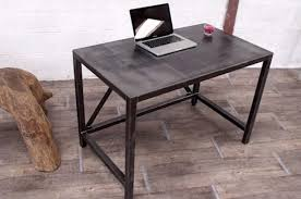 bureau design industriel bureau metal bois takeoffnow co throughout bureau industriel metal